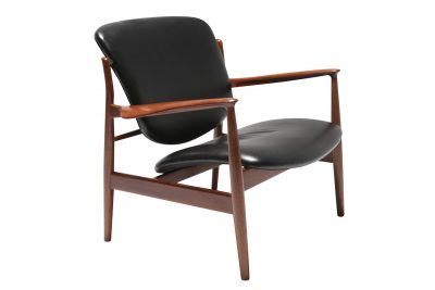 Finn Juhl FD 136 Armchair for France & Son 001