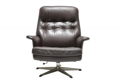 Danish Leather Swivel 001