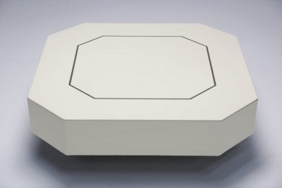 French hexagonal square coffee table 007
