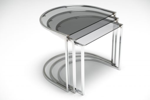 Chrome Nesting Tables