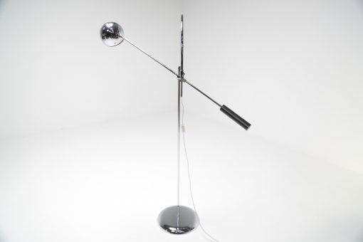 Orbiter floor lamp by Robert Sonneman