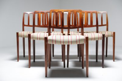 Niels Moller rosewood 83 chairs