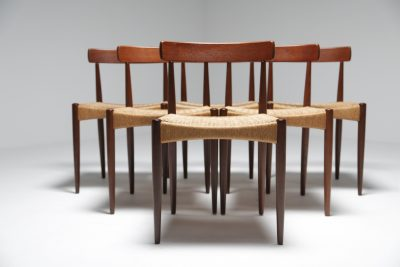Arne Hovmand Olsen chairs for Mogens Kold