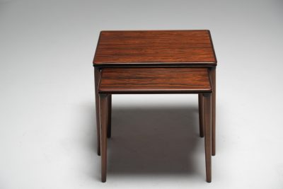 Rosewood Duo of Side tables