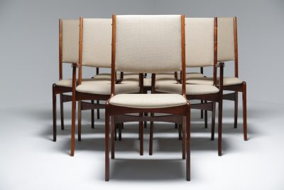 Rosewood Dining Chairs by Johannes Andersen vintage rosewood furniture Danish furniture Dublin
