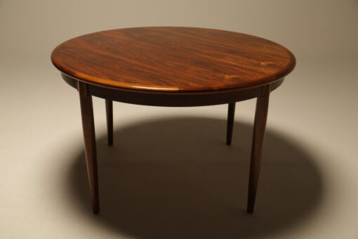 Niels Moller Rosewood Dining Table Model 15 the vintage hub