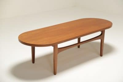 Danish Teak Racetrack Coffee Table vintage furniture Dublin Ireland