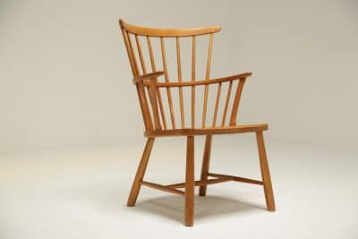 Ove Boldt Windsor Chair by Fritz Hansen the vintage hub