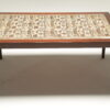 Rosewood Coffee Table with Baca Tiles by Severin Hansen vintage coffee table